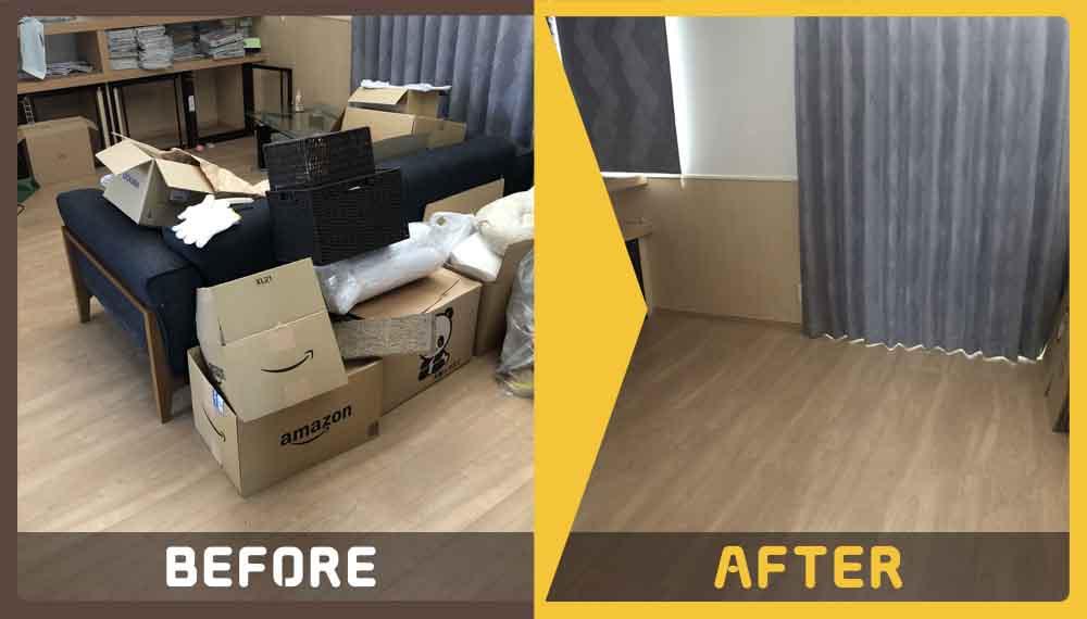 家具一式の処理にお困りのお客様からご依頼いただきました。
