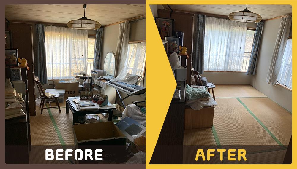 大型の家具など不用品の処理にお困りのお客様からご依頼いただきました。