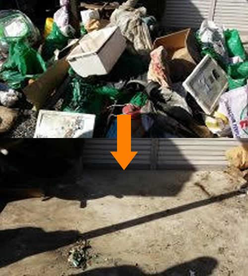 【藤枝市】引越し業者に断られたゴミの回収