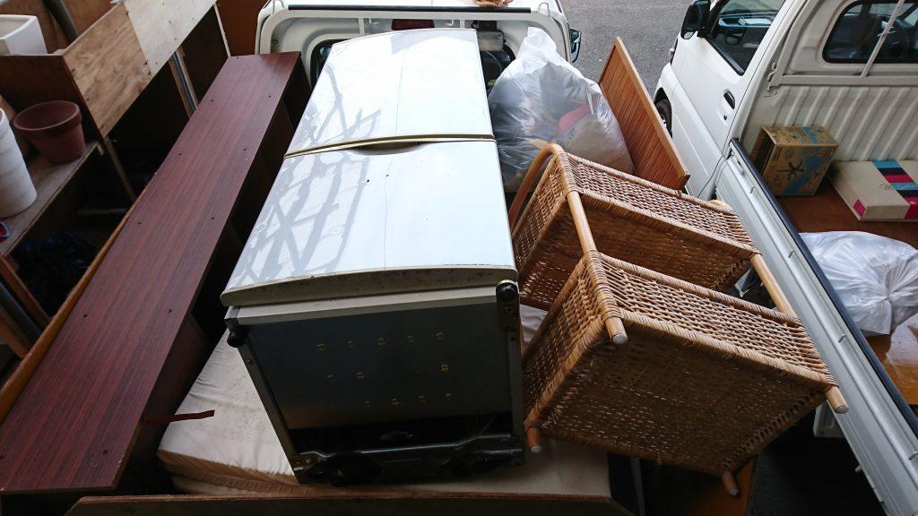 【焼津市】ベッド、食器棚、収納棚、クローゼット、家庭ごみなどの回収