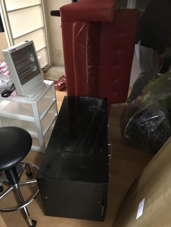 引っ越しに伴う家具家電の回収☆ご希望日での対応にご満足いただけました。