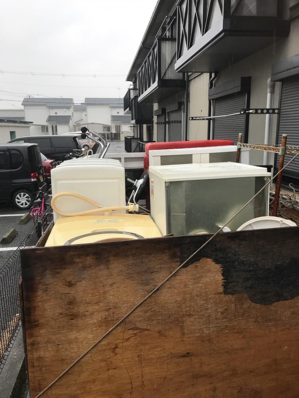 【大和高田市】引っ越しに伴う家具家電の回収☆ご希望日での対応にご満足いただけました。