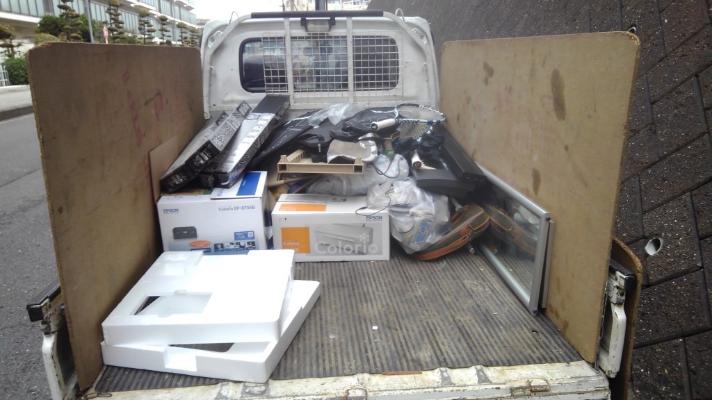 【奈良市】軽トラック積み放題パックでの回収☆見積もりと同時に回収してくれる柔軟な対応がよかったとご満足いただけました!
