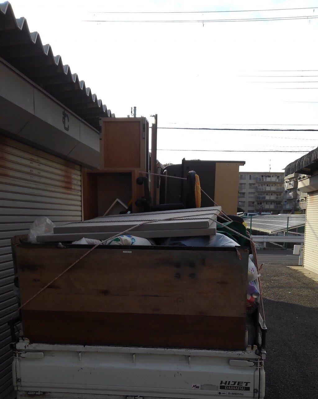 【天理市中町】引越しの際に出る不用品の回収・処分ご依頼お客様の声