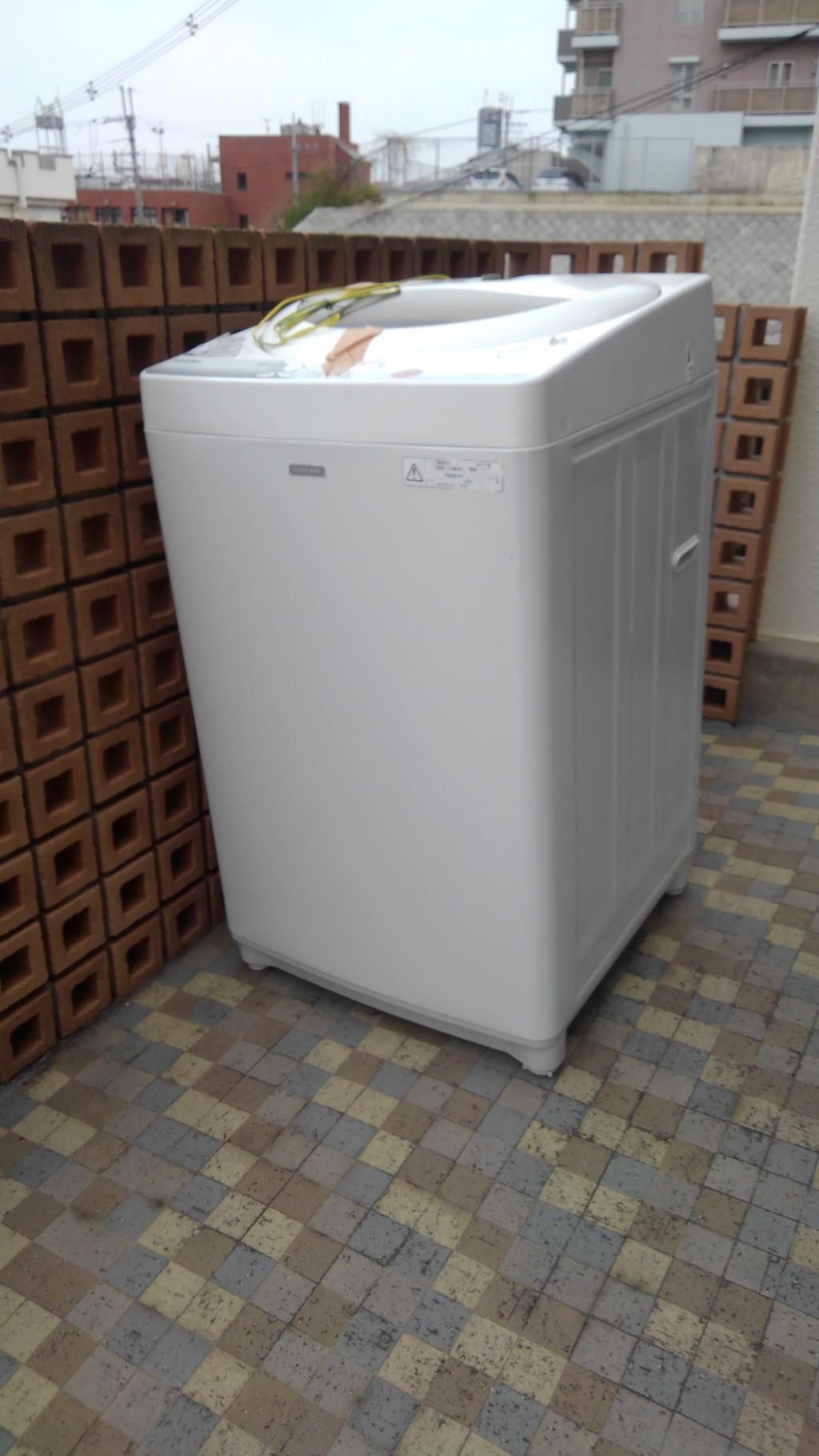 【奈良市富雄元町】洗濯機一点の回収☆希望日での対応にご満足いただけたようです!