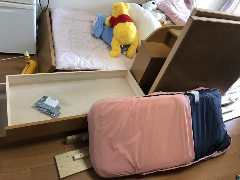 【奈良市林小路町】ベッドや座椅子など回収・処分ご依頼 お客様の声