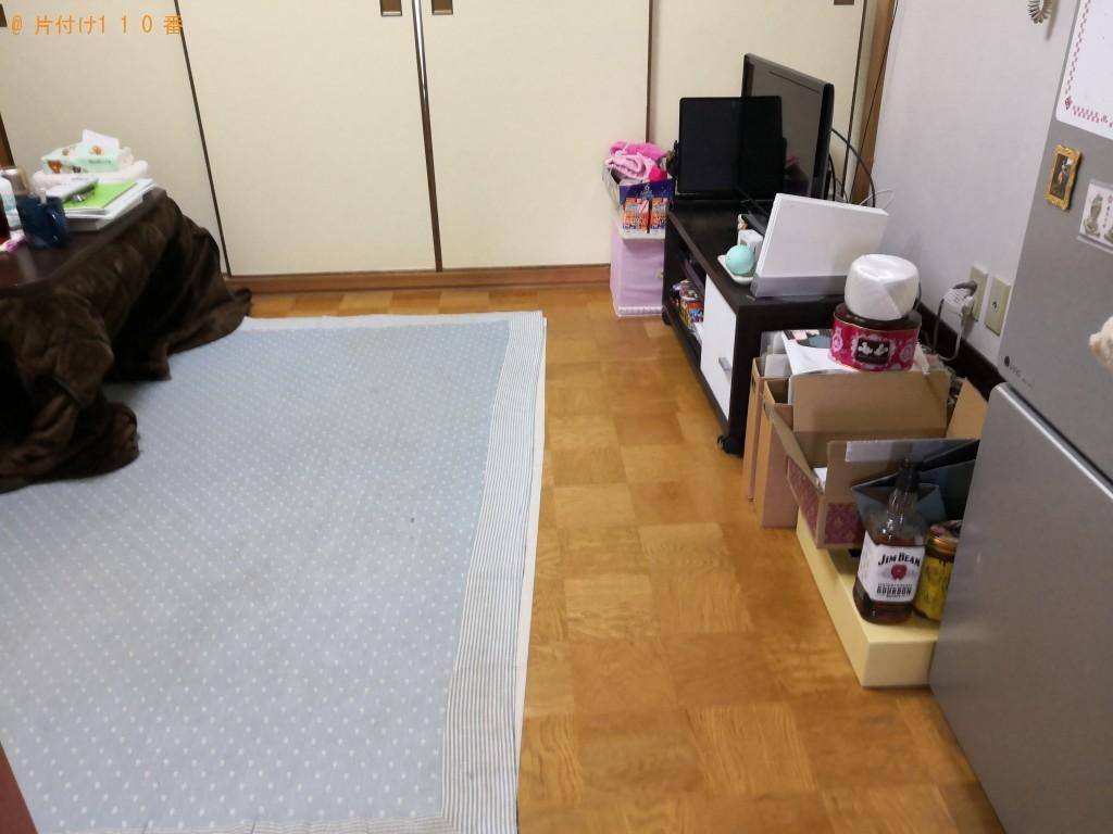 【奈良市】机や家庭ごみ、衣類などの不用品回収処分 お客様の声