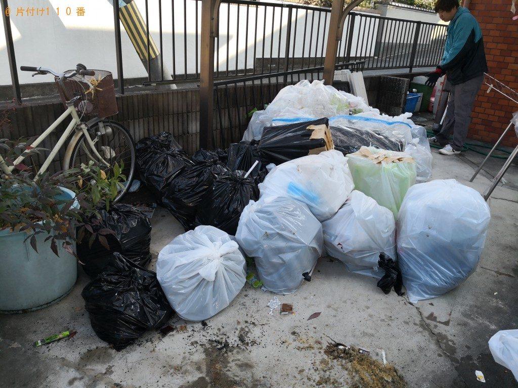 【天理市】家庭ごみの不用品回収処分 お客様の声