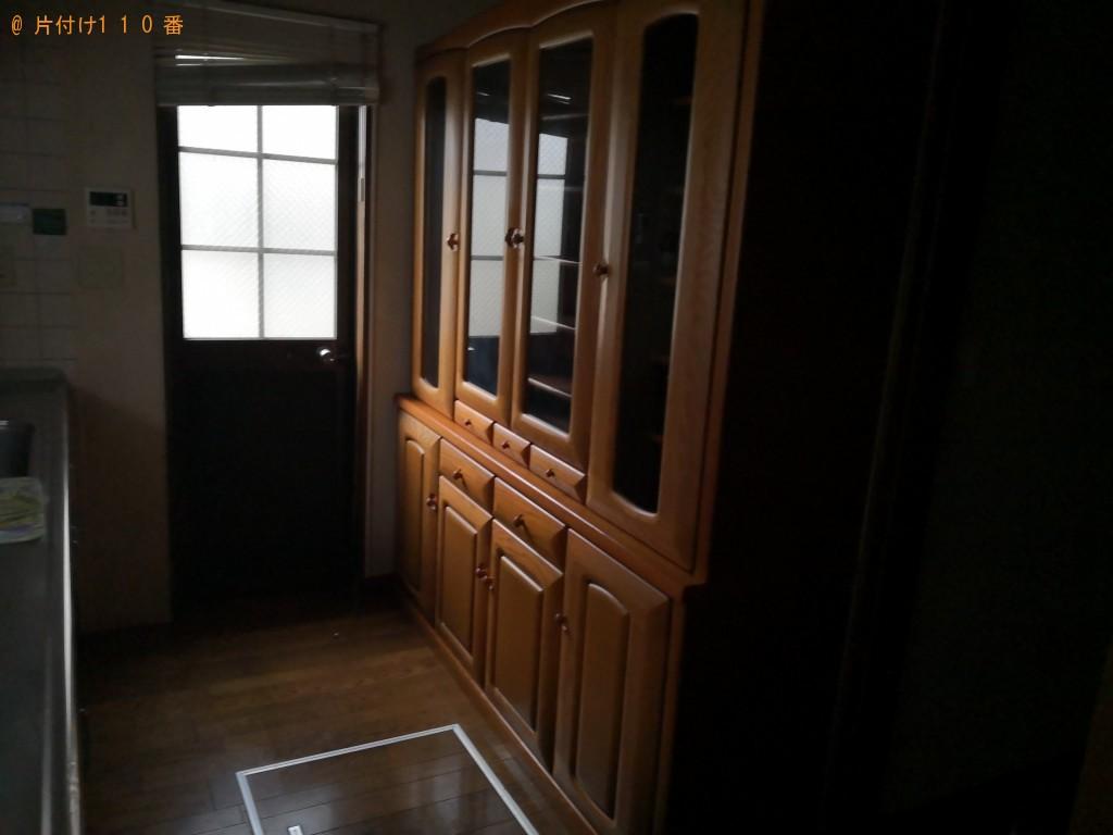 【奈良市】ベッド、食器棚の出張不用品回収・処分ご依頼 お客様の声