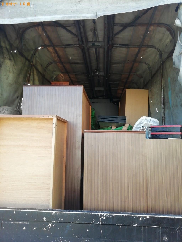 【橿原市木原町】ソファー、食器棚、本棚等の回収・処分 お客様の声
