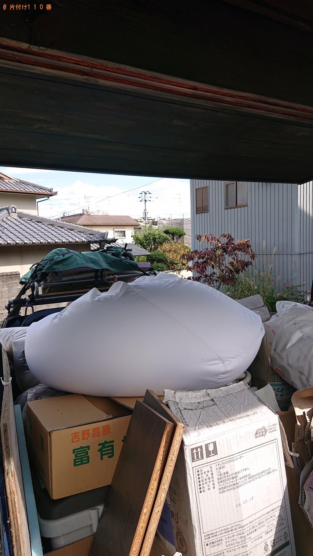【奈良市】衣装ケース、ごみ箱、ダンボール等の回収・処分 お客様の声