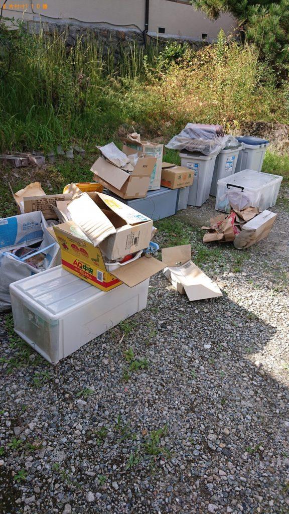 【大和高田市】衣装ケース、ごみ箱、ダンボール等の回収・処分 お客様の声