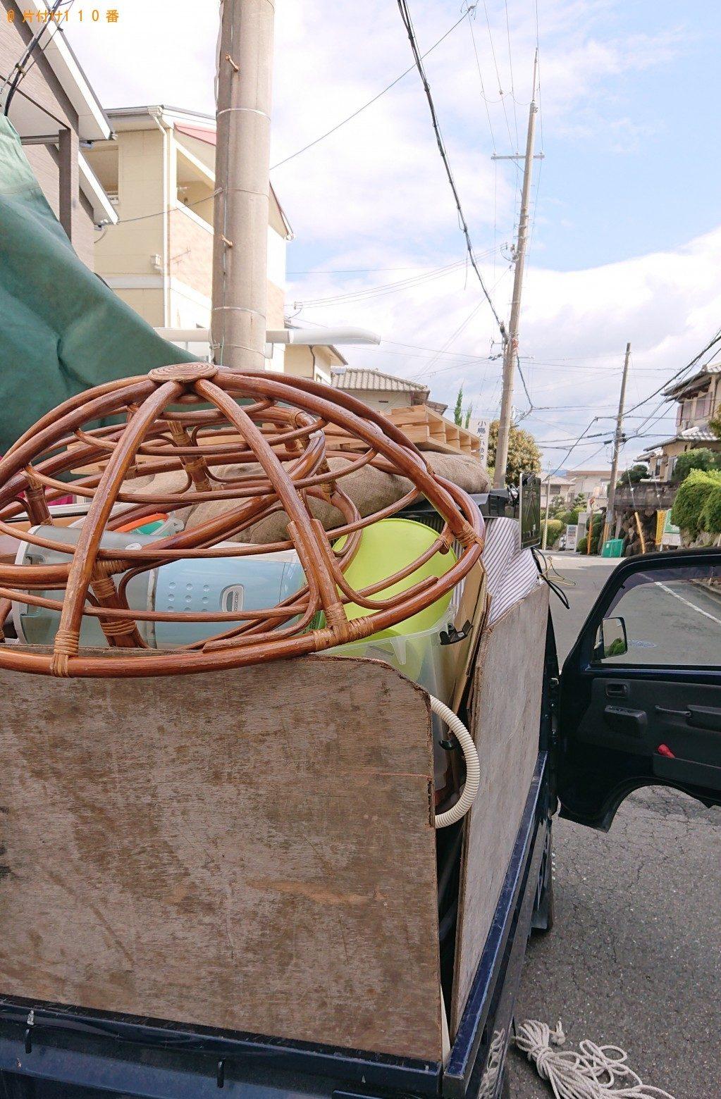 【奈良市】洗濯機、掃除機、エアコン等の回収・処分 お客様の声