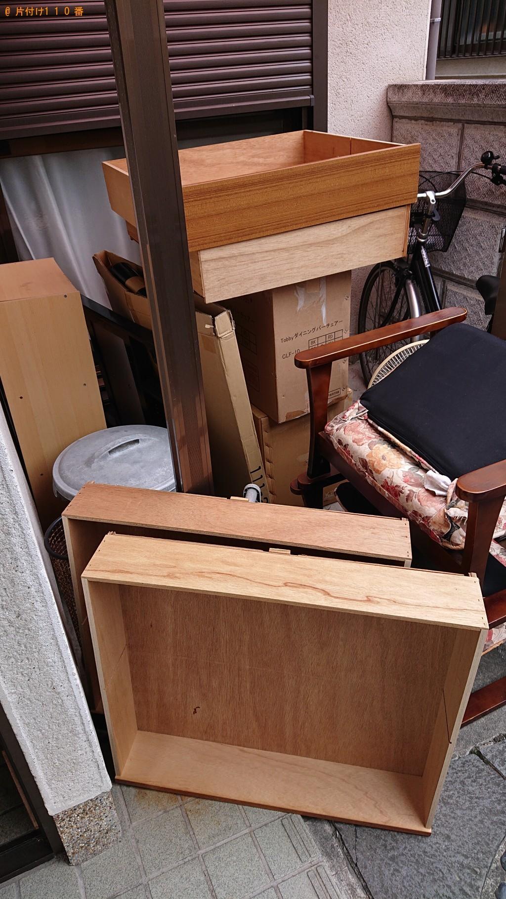 【大和高田市】整理タンス、エアコン、回転イス等の回収・処分 お客様の声