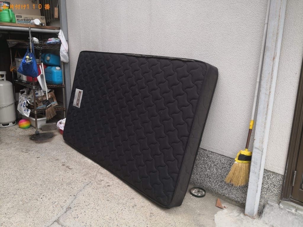 【奈良市】セミダブルマットレス1点の回収・処分 お客様の声