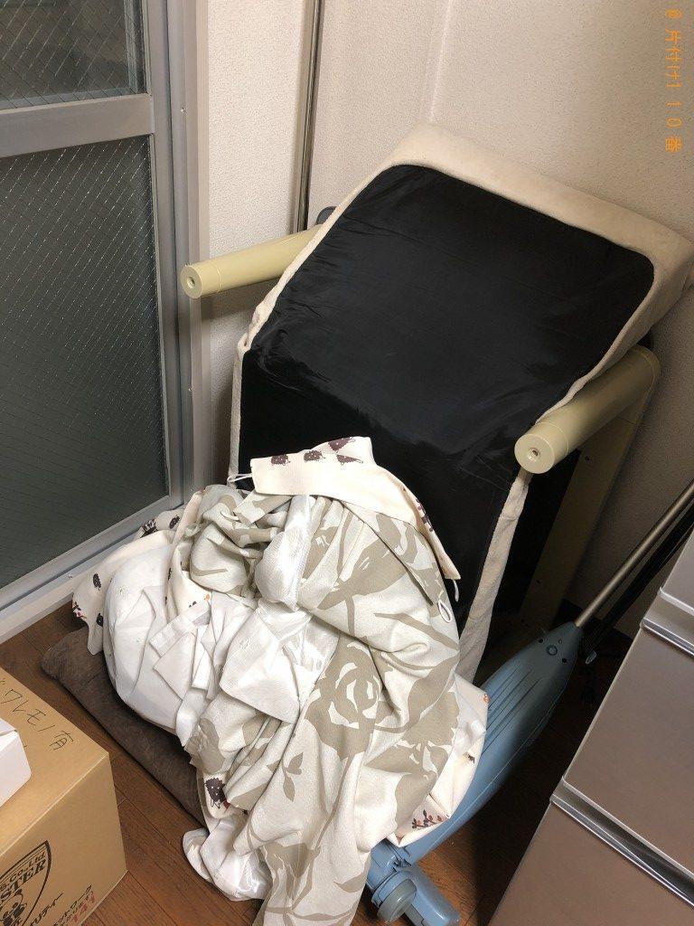 【奈良市】引越しに伴い、小型家具家電回収ご依頼 お客様の声