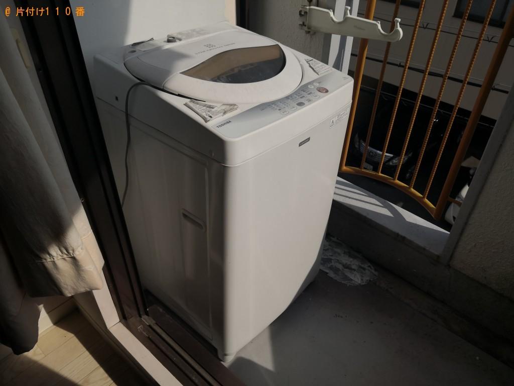 【奈良市法華寺町】洗濯機、食器棚の回収ご依頼 お客様の声