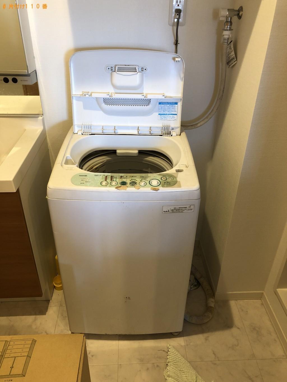 【奈良市西木辻町】洗濯機1台回収処分ご依頼 お客様の声