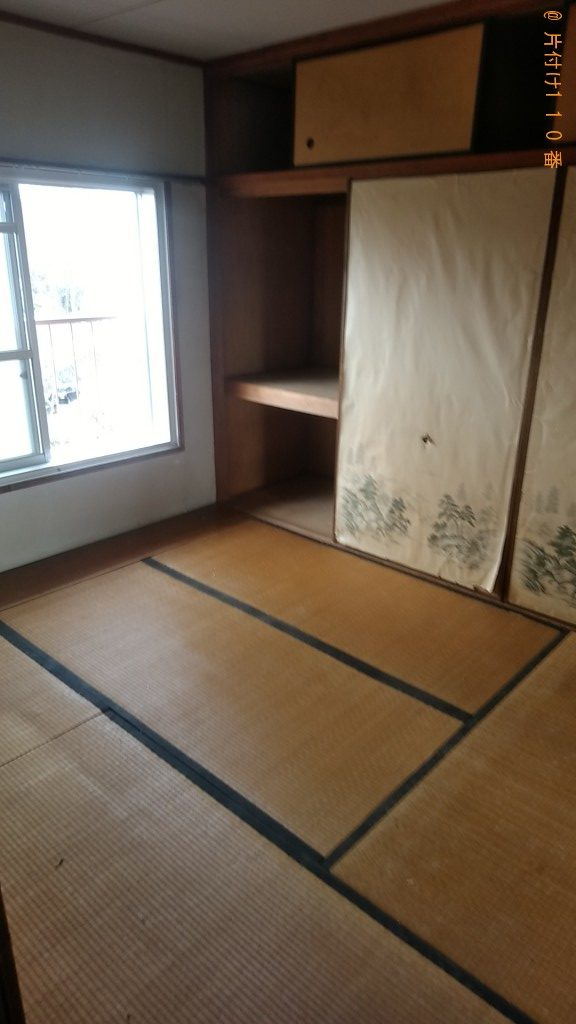 【桜井市】整理タンス、ハンガーラック、衣類の回収・処分ご依頼