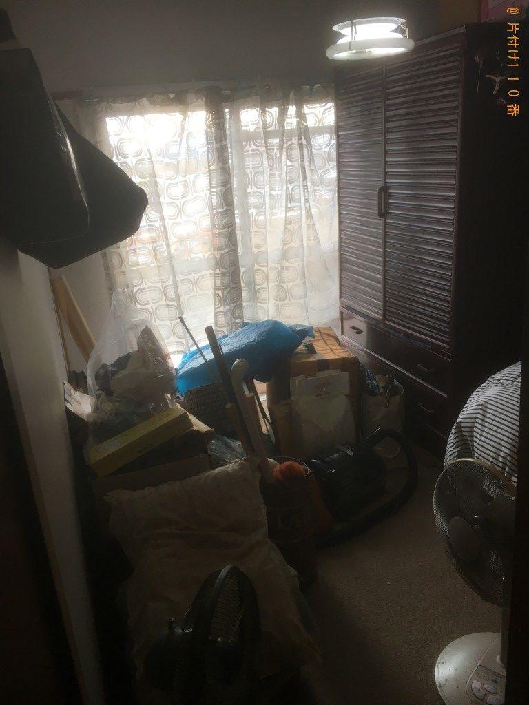 【北葛城郡】整理タンス、ハンガーラック、衣類の回収・処分ご依頼