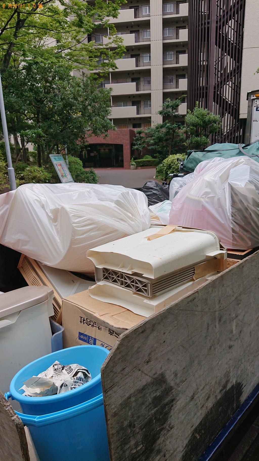 【葛城市】軽トラック1台程度の出張不用品の回収・処分ご依頼