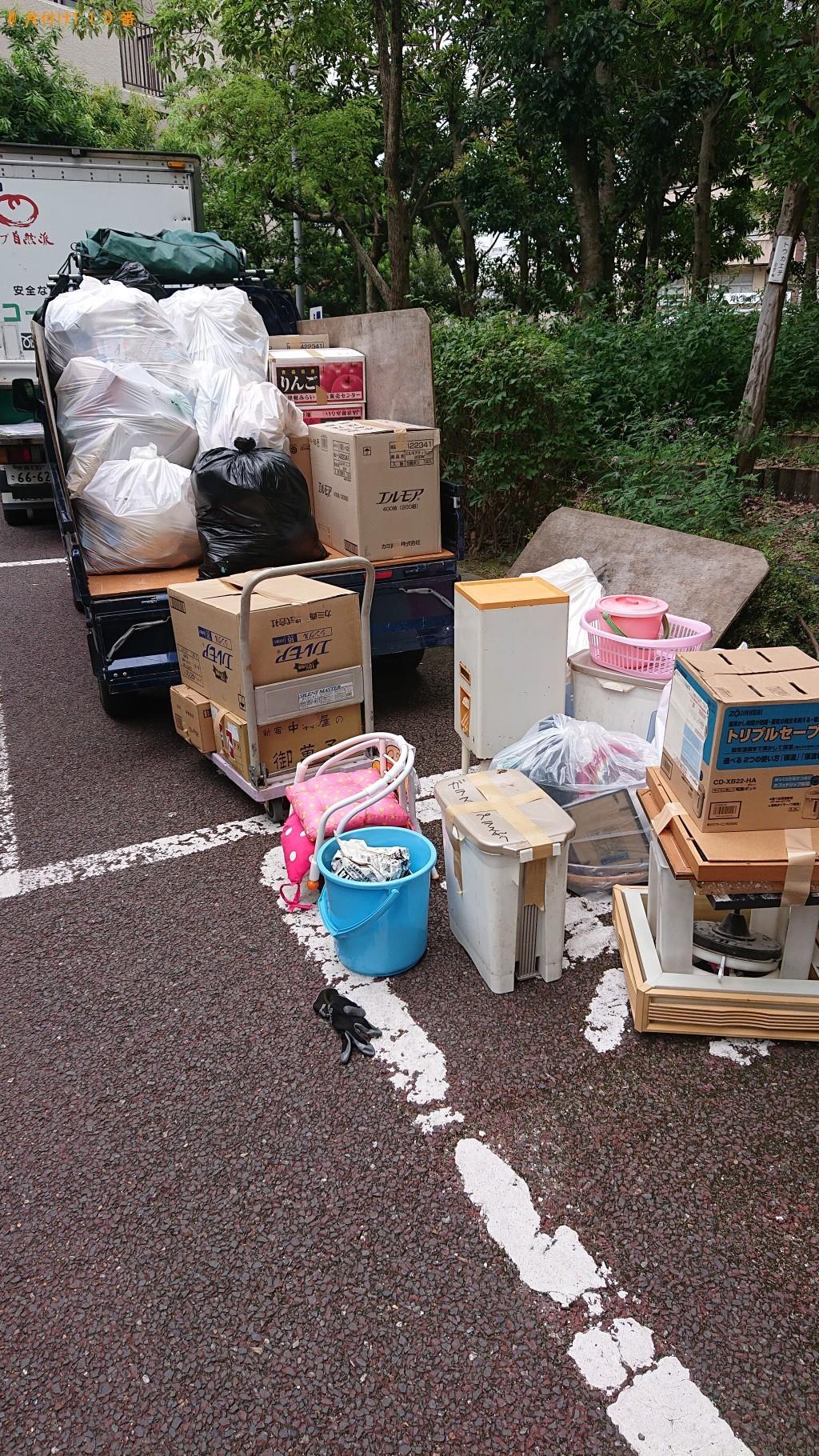 【奈良市大宮町】軽トラック1台程度の出張不用品の回収・処分ご依頼