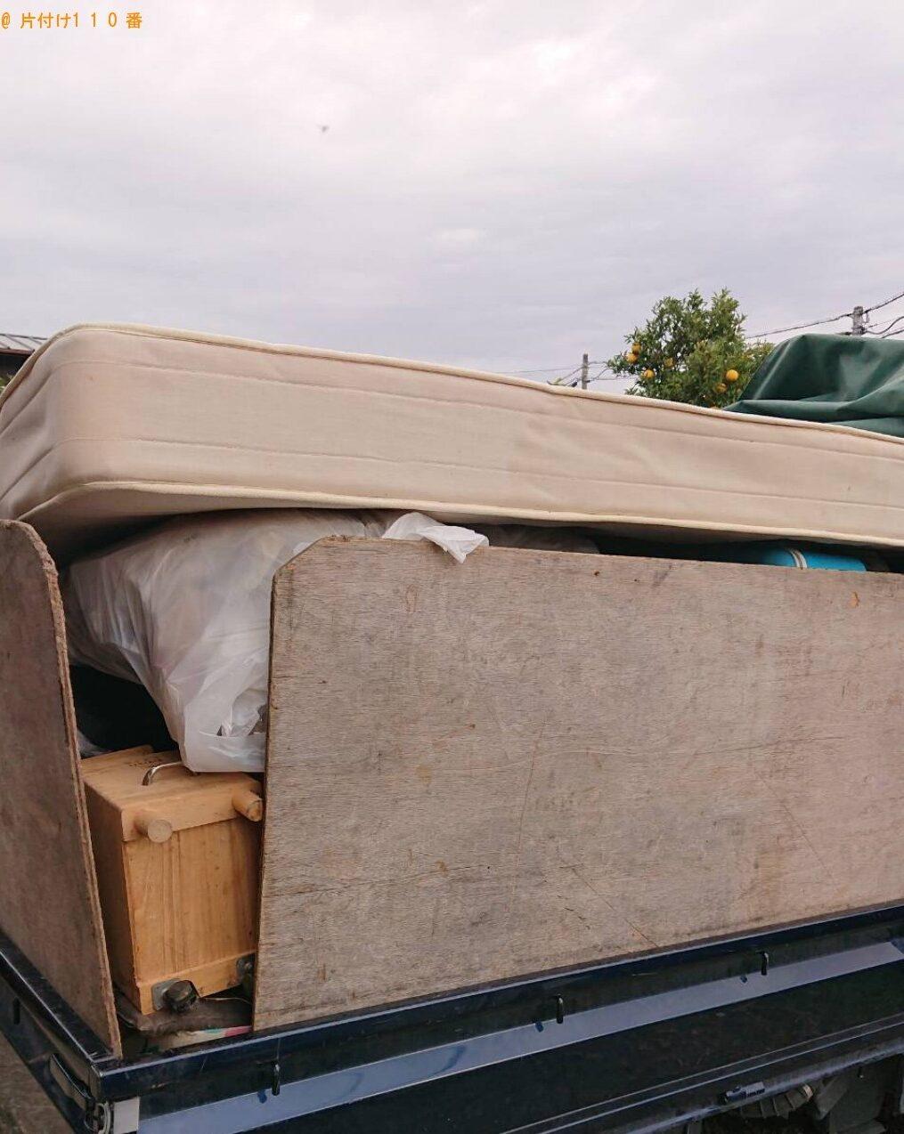 2tトラック1台程度の出張不用品の回収・処分ご依頼