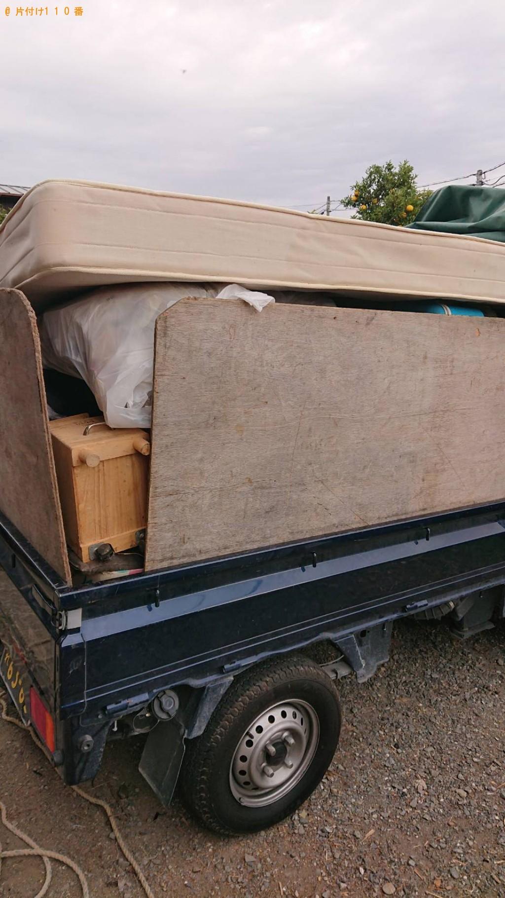 【生駒市】2tトラック1台程度の出張不用品の回収・処分ご依頼