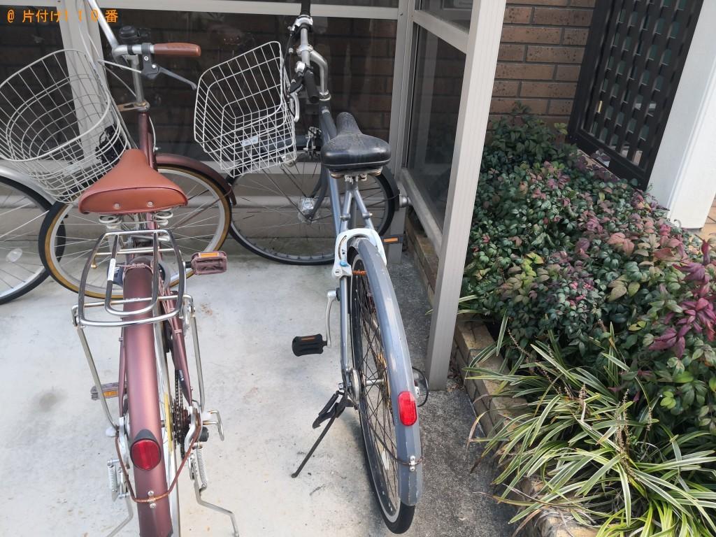 【奈良市南魚屋町】自転車の回収・処分ご依頼 お客様の声