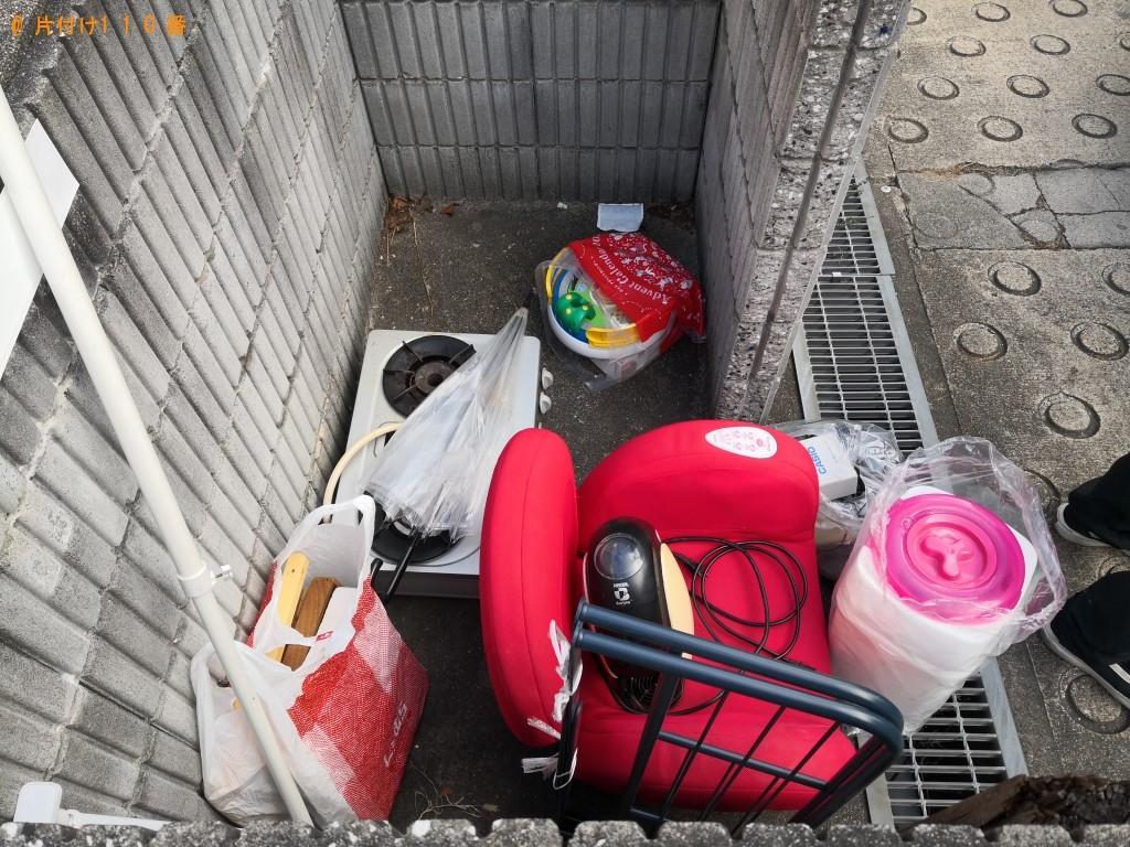【生駒市本町】ドラム式洗濯機、ガスコンロ、空気清浄機等の回収