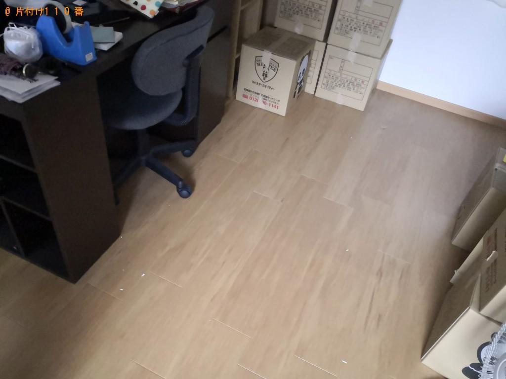 【奈良市】ガスコンロ、クローゼット、食器棚、PCデスクの回収