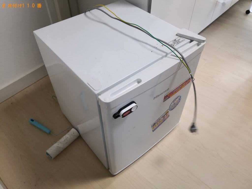 【奈良市】冷蔵庫、空気清浄機、扇風機、ダンボールの回収・処分