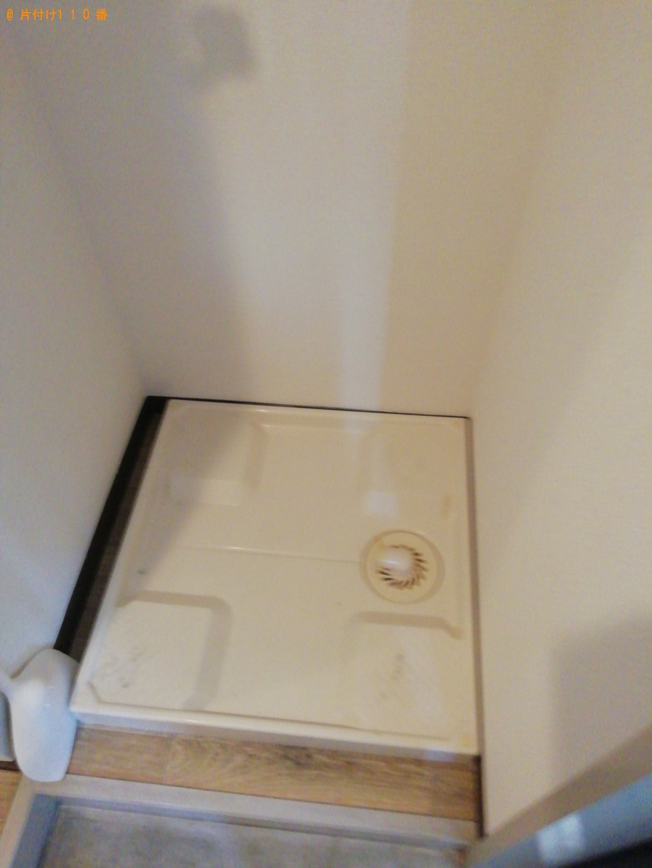 【橿原市久米町】洗濯機、電子レンジの回収・処分 お客様の声