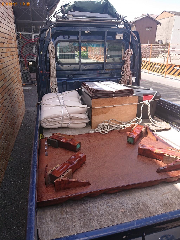 【奈良市三条宮前町】仏壇、ローテーブル、カーペットなどの回収