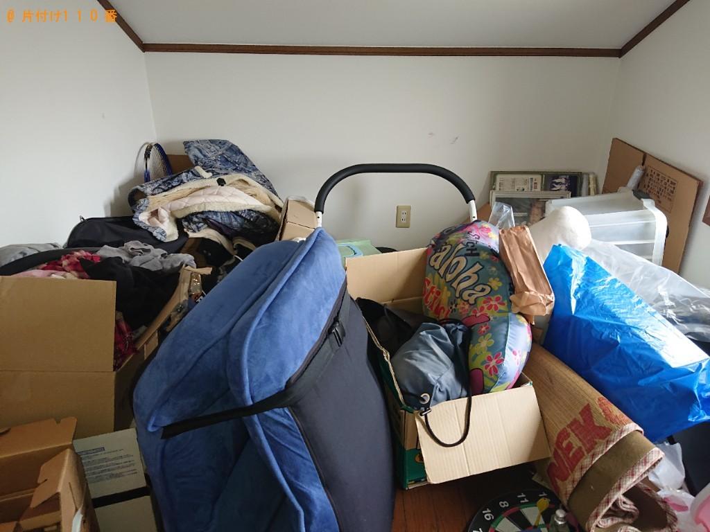 【橿原市光陽町】ベッド、テーブル、カラーボックス等の回収・処分