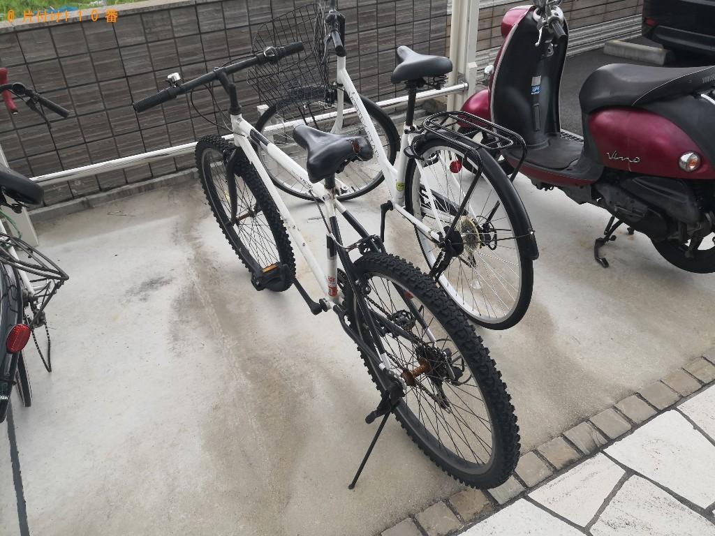 【奈良市菅原町】自転車の回収・処分ご依頼 お客様の声