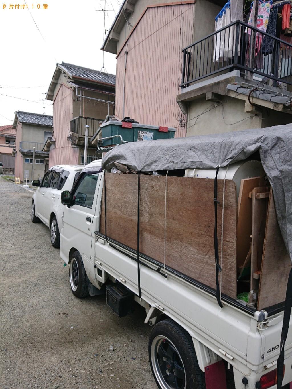 【橿原市】2tトラック1台程度の出張不用品回収・処分ご依頼