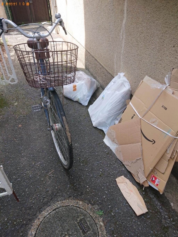 【奈良市紀寺町】自転車、モニター、衣類等の回収・処分ご依頼