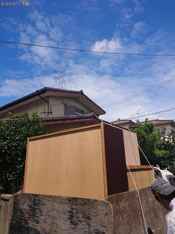 【香芝市】冷蔵庫、タンス、クローゼット等の回収・処分ご依頼