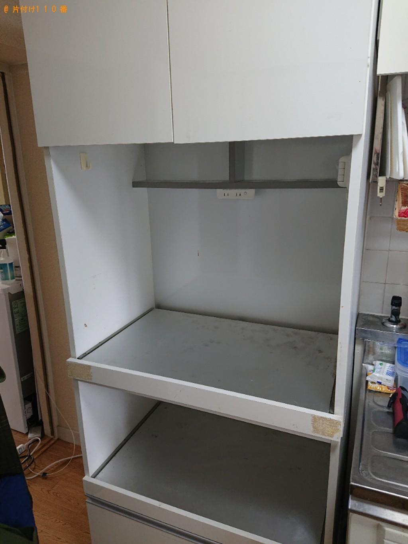 【大和郡山市】食器棚の回収・処分ご依頼 お客様の声