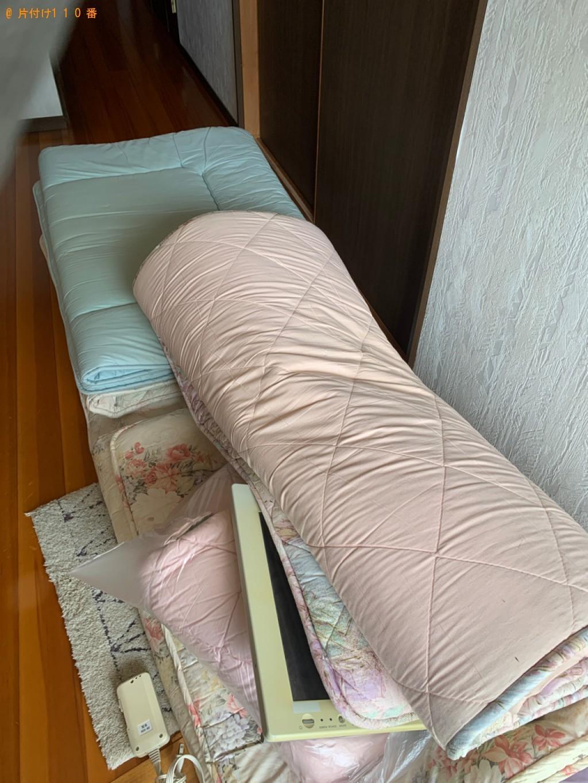 【奈良市】シングルベッド、ベッドマットレス等の回収・処分ご依頼