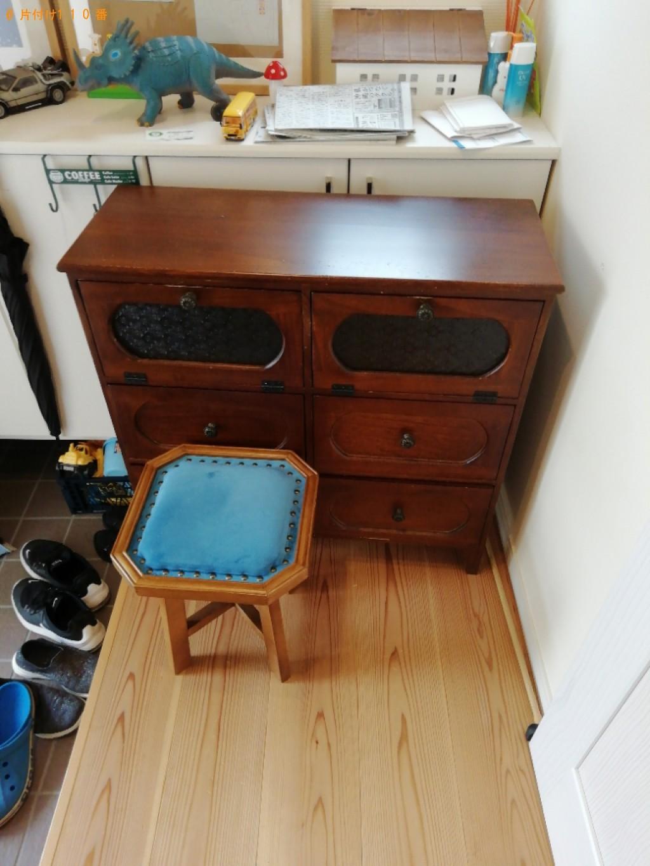 【奈良市】カーペット、二人用ダイニングテーブル等の回収・処分