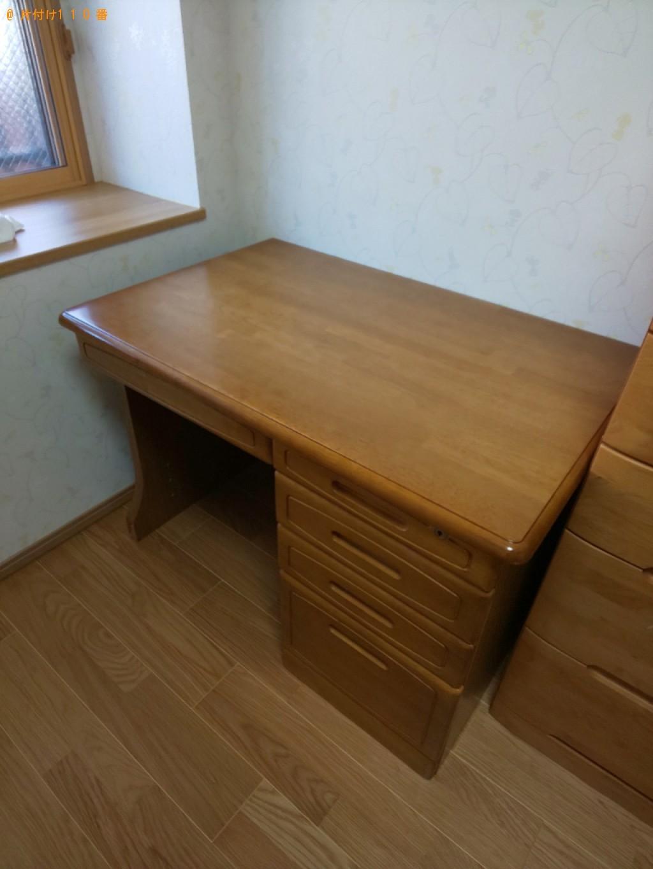 【奈良市西大寺国見町】学習机の回収・処分ご依頼 お客様の声