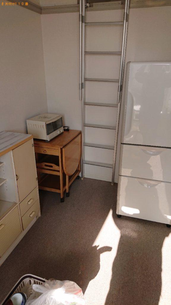 【奈良市】冷蔵庫、洗濯機、こたつ、タンス、食器棚の回収・処分