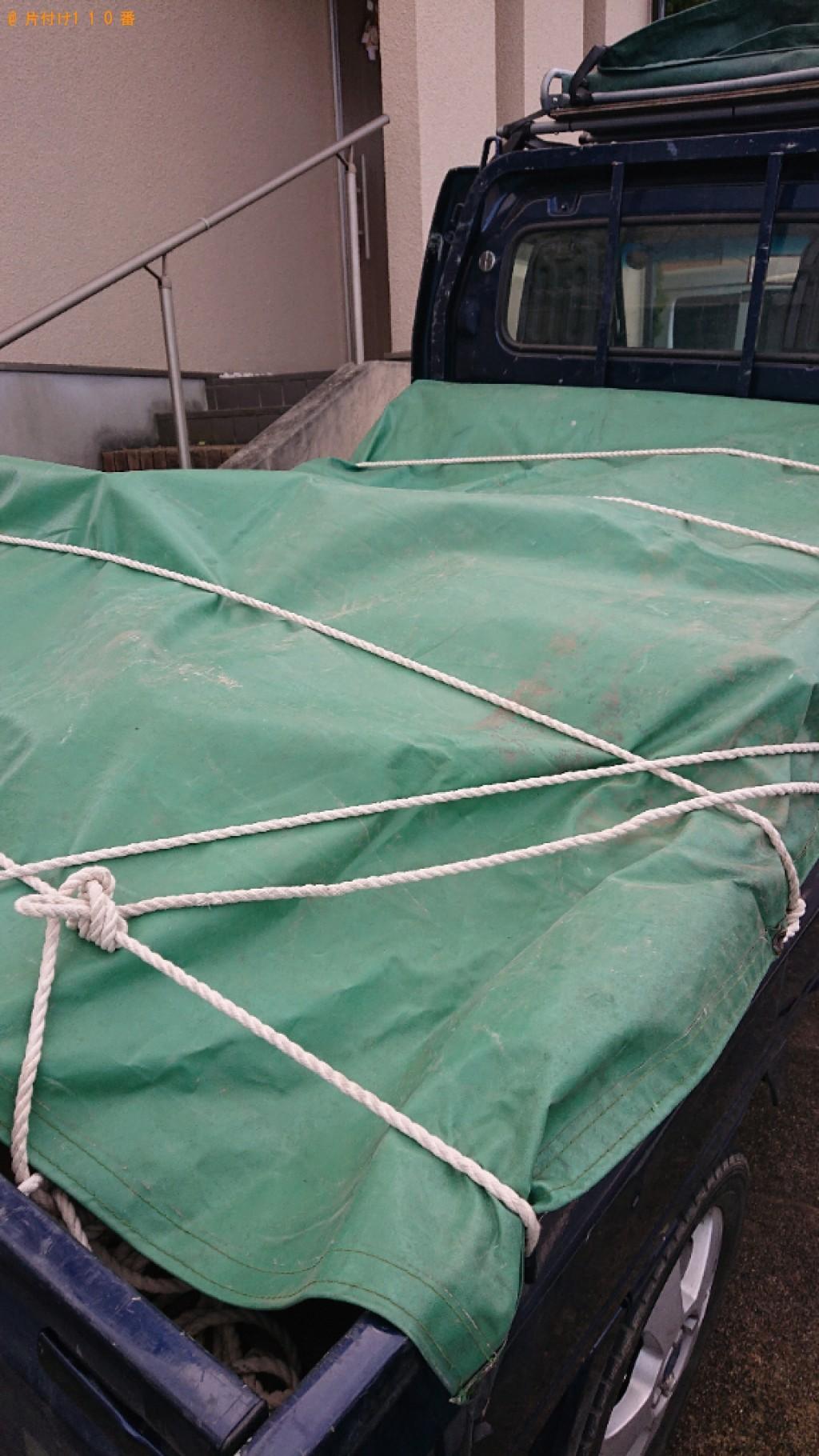 【生駒郡三郷町】マッサージチェアの回収とエアコンクリーニング