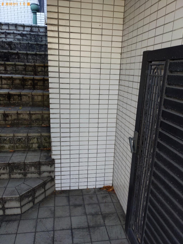 【奈良市鳥見町】シングルベッドマットレスの回収・処分ご依頼