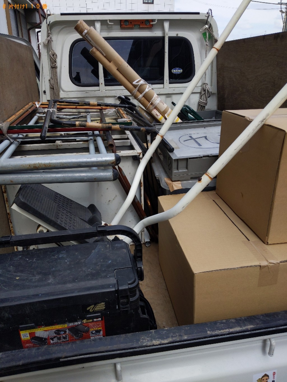 【大和高田市】スタンドミラー、衣装ケース、健康器具等の回収・処分