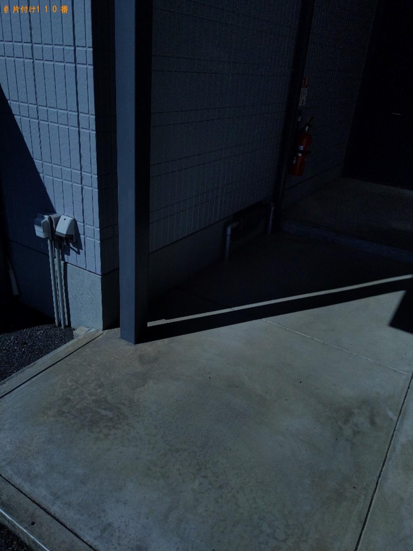 【奈良市杉ケ町】シングルベッドマットレスの回収・処分ご依頼