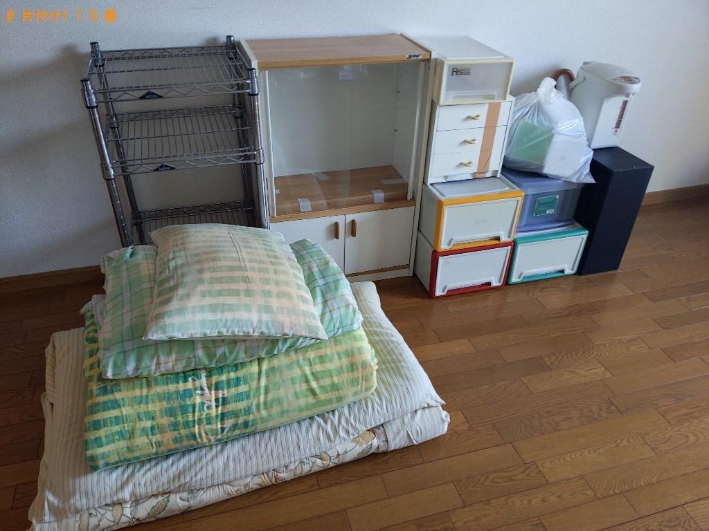 【奈良市西大寺本町】冷蔵庫、洗濯機、電子レンジ、家具等の回収