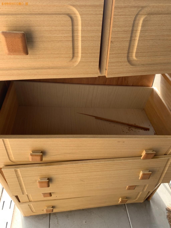 【奈良市中山町】タンス、布団の回収・処分ご依頼 お客様の声